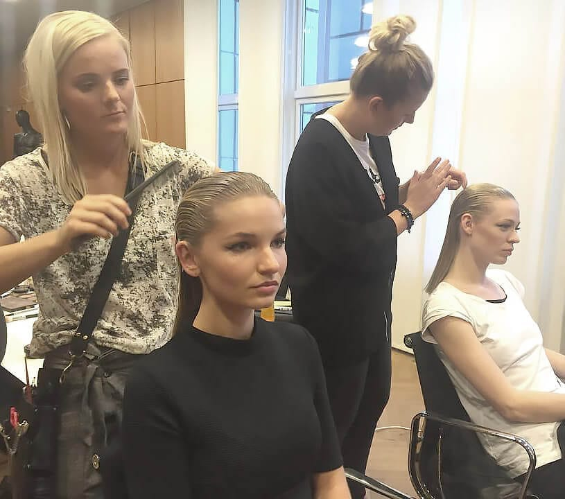 Catwalk hairstyling