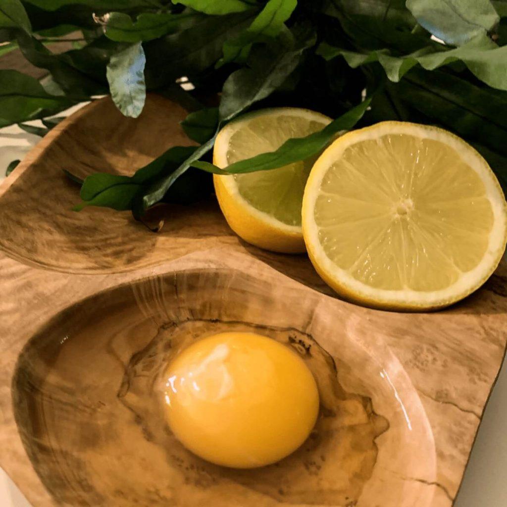 lemon and eg